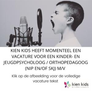 Vacature Kien Kids